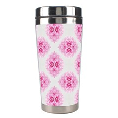 Peony Photo Repeat Floral Flower Rose Pink Stainless Steel Travel Tumblers