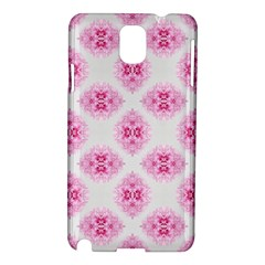Peony Photo Repeat Floral Flower Rose Pink Samsung Galaxy Note 3 N9005 Hardshell Case