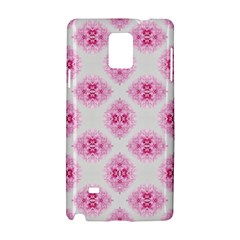 Peony Photo Repeat Floral Flower Rose Pink Samsung Galaxy Note 4 Hardshell Case