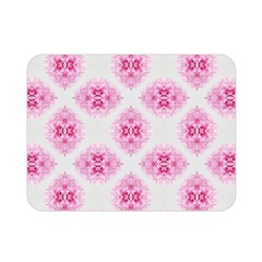 Peony Photo Repeat Floral Flower Rose Pink Double Sided Flano Blanket (Mini)