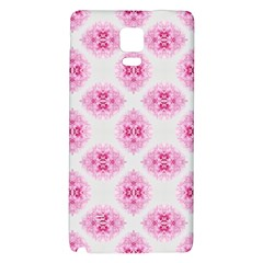 Peony Photo Repeat Floral Flower Rose Pink Galaxy Note 4 Back Case