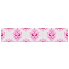 Peony Photo Repeat Floral Flower Rose Pink Flano Scarf (Small)