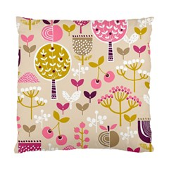 Retro Fruit Leaf Tree Orchard Standard Cushion Case (One Side)