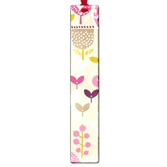 Retro Fruit Leaf Tree Orchard Large Book Marks