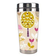 Retro Fruit Leaf Tree Orchard Stainless Steel Travel Tumblers