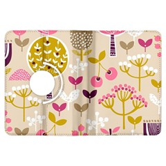 Retro Fruit Leaf Tree Orchard Kindle Fire HDX Flip 360 Case
