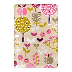 Retro Fruit Leaf Tree Orchard Samsung Galaxy Tab Pro 10.1 Hardshell Case
