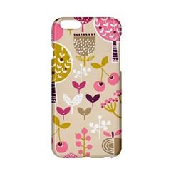 Retro Fruit Leaf Tree Orchard Apple iPhone 6/6S Hardshell Case