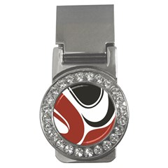 Red Black Money Clips (CZ)