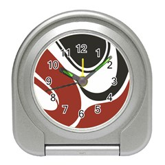 Red Black Travel Alarm Clocks