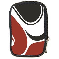 Red Black Compact Camera Cases