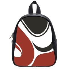 Red Black School Bags (Small)