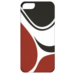 Red Black Apple iPhone 5 Classic Hardshell Case