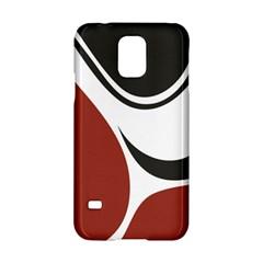 Red Black Samsung Galaxy S5 Hardshell Case