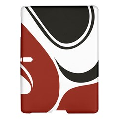 Red Black Samsung Galaxy Tab S (10.5 ) Hardshell Case