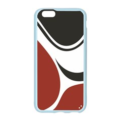 Red Black Apple Seamless iPhone 6/6S Case (Color)