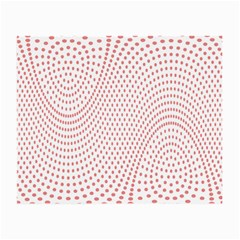Red Circle Small Glasses Cloth