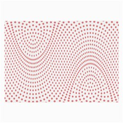 Red Circle Large Glasses Cloth