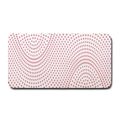 Red Circle Medium Bar Mats
