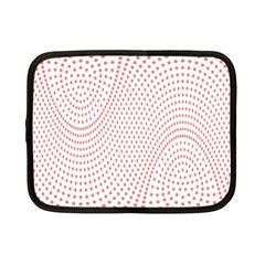 Red Circle Netbook Case (Small)
