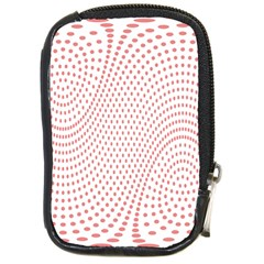 Red Circle Compact Camera Cases