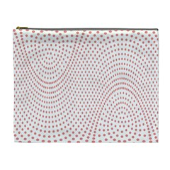 Red Circle Cosmetic Bag (XL)