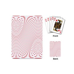 Red Circle Playing Cards (Mini)