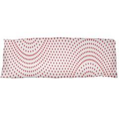 Red Circle Body Pillow Case (Dakimakura)