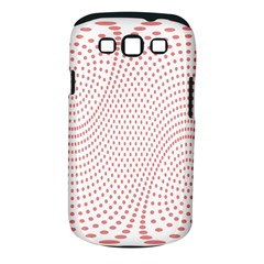 Red Circle Samsung Galaxy S III Classic Hardshell Case (PC+Silicone)