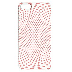 Red Circle Apple iPhone 5 Hardshell Case with Stand