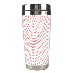 Red Circle Stainless Steel Travel Tumblers
