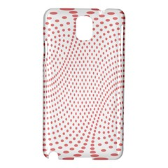 Red Circle Samsung Galaxy Note 3 N9005 Hardshell Case
