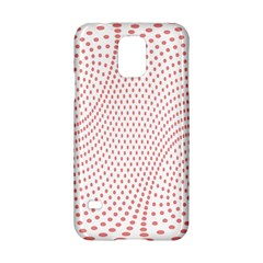 Red Circle Samsung Galaxy S5 Hardshell Case