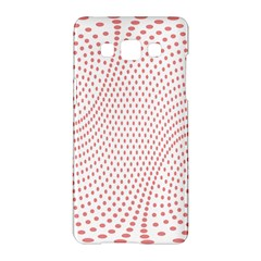 Red Circle Samsung Galaxy A5 Hardshell Case