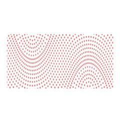 Red Circle Satin Wrap