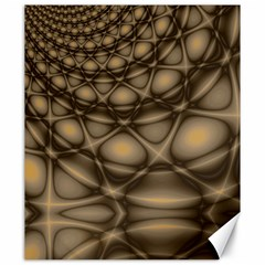 Rocks Metal Fractal Pattern Canvas 20  x 24