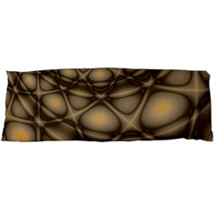 Rocks Metal Fractal Pattern Body Pillow Case (Dakimakura)