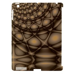 Rocks Metal Fractal Pattern Apple iPad 3/4 Hardshell Case (Compatible with Smart Cover)