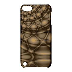Rocks Metal Fractal Pattern Apple iPod Touch 5 Hardshell Case with Stand