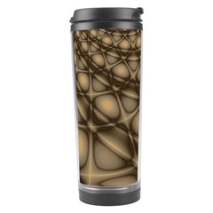 Rocks Metal Fractal Pattern Travel Tumbler