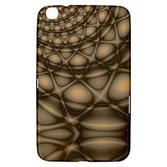 Rocks Metal Fractal Pattern Samsung Galaxy Tab 3 (8 ) T3100 Hardshell Case