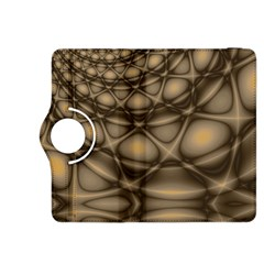 Rocks Metal Fractal Pattern Kindle Fire HDX 8.9  Flip 360 Case