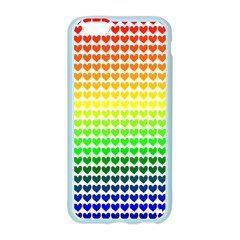 Rainbow Love Heart Valentine Orange Yellow Green Blue Apple Seamless iPhone 6/6S Case (Color)