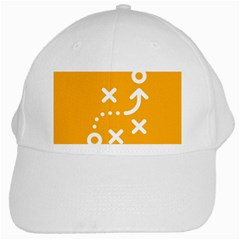 Sign Yellow Strategic Simplicity Round Times White Cap
