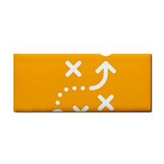 Sign Yellow Strategic Simplicity Round Times Cosmetic Storage Cases