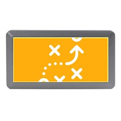 Sign Yellow Strategic Simplicity Round Times Memory Card Reader (Mini)