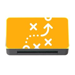 Sign Yellow Strategic Simplicity Round Times Memory Card Reader With Cf