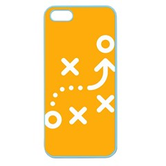 Sign Yellow Strategic Simplicity Round Times Apple Seamless iPhone 5 Case (Color)