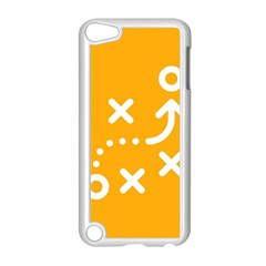 Sign Yellow Strategic Simplicity Round Times Apple iPod Touch 5 Case (White)