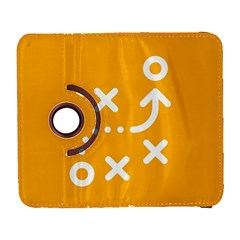 Sign Yellow Strategic Simplicity Round Times Galaxy S3 (Flip/Folio)